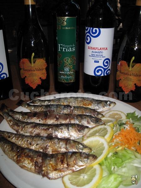 10.000 Kg de sardinas en el Restaurante Micota - © Cucharete.com
