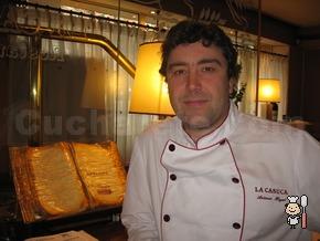 Antonio Hoyas - Chef del Restaurante La Casuca (Madrid)