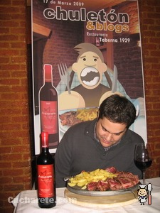 Ramón Redondo - Chuletón & Blogs -  © Cucharete.com