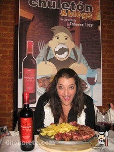 Mari Trini Giner - Chuletón & Blogs -  © Cucharete.com