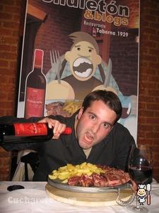 Miguel Miguel - Chuletón & Blogs -  © Cucharete.com