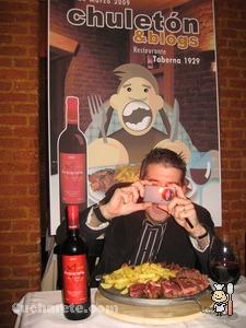 Orlando Lumbreras - Chuletón & Blogs -  © Cucharete.com