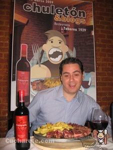 Ignacio Gómez García. Amigo de Manuel Sagra - Chuletón & Blogs -  © Cucharete.com
