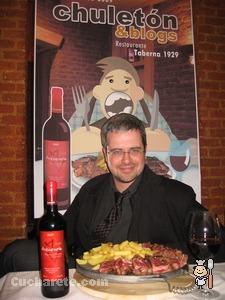 Miguel Ángel Uriondo - Chuletón & Blogs -  © Cucharete.com