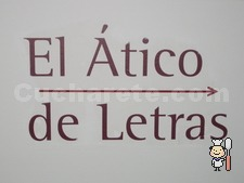 Ático de las Letras - © Cucharete.com