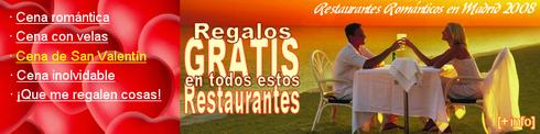 Ofertas de Restaurantes en San Valentín - © Cucharete.com