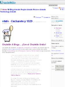MetoCube -  © Cucharete.com