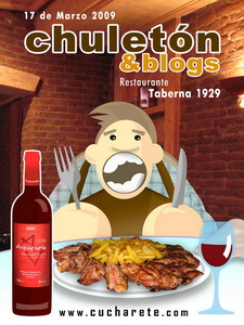 Cartel Oficial Chuletón & Blogs -  © Cucharete.com