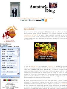 Antoine's Blog -  © Cucharete.com