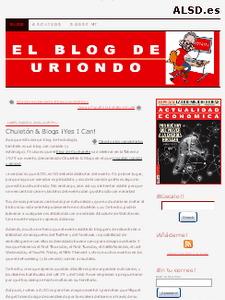El Blog de Uriondo -  © Cucharete.com