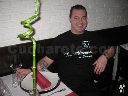 Carlos Rojas - Chef del Restaurante La Alacena de Serrano (Madrid) - © Cucharete.com