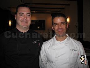 Carlos Rojas y Félix Celester - Chefs del Restaurante La Alacena de Serrano (Madrid)