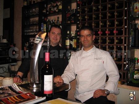Carlos Rojas y Félix Celester - Chefs del Restaurante La Alacena de Serrano (Madrid) - © Cucharete.com