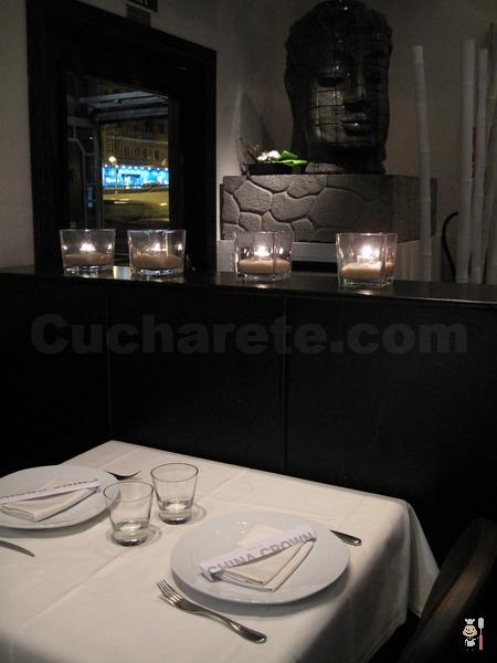 Restaurante China Crown - © Cucharete.com