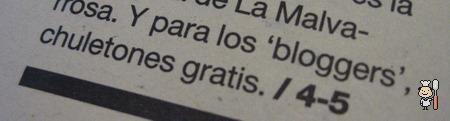 Chuletón & Blogs en el Diario de Alcalá