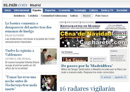 Cucharete.com en El País