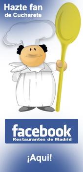 Hazte fan y amigo de Cucharete en Facebook!