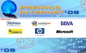 Cucharete.com nominado a los Premios de Internet 2009 como Mejor Web