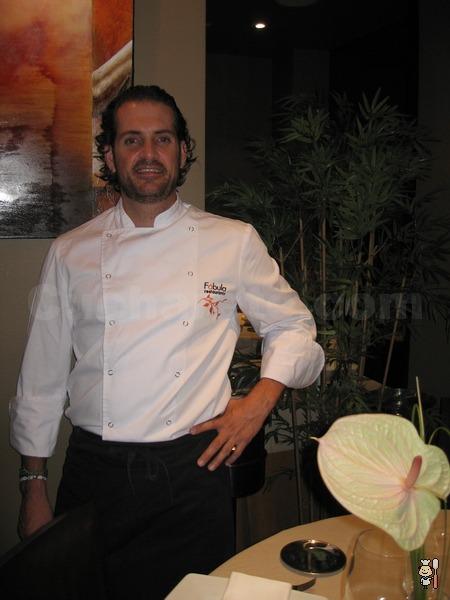 Daniel Paradinas - Chef del Restaurante Fábula (Madrid) - © Cucharete.com
