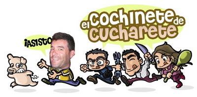Emilio Rey asiste al Cochinete de Cucharete