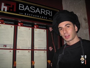 Eduardo Maine - Chef del Restaurante Basarri (Madrid)