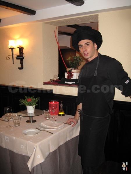 Eduardo Maine - Chef del Restaurante Basarri (Madrid) - © Cucharete.com