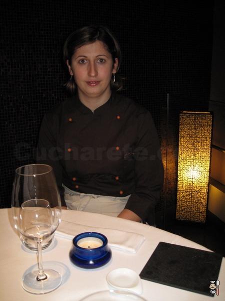 Elena Ursu - Chef del Restaurante Treze (Madrid) - © Cucharete.com