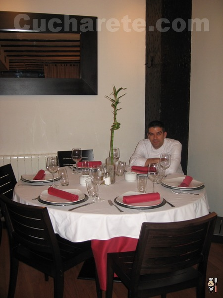 Félix Celester - Chef del Restaurante La Alacena de Serrano (Madrid) - © Cucharete.com