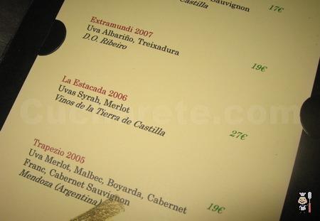 La Estacada 2006 GRATIS en el Restaurante Lúa - © Cucharete.com