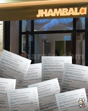 Renovación de la carta del Restaurante Jhambala - © Cucharete.com