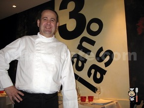 Jonkar Alday - Chef del Restaurante Las Tres Manolas (Madrid)