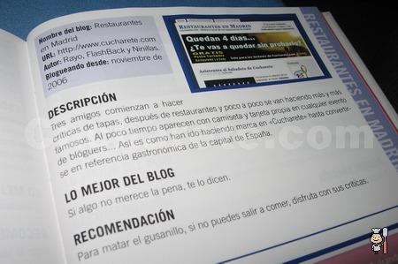 Cucharete.com en La Gran Guía de los Blogs