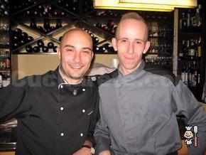 Manuel Domínguez Carrete y Pedro Espinosa - Chefs del Restaurante Lúa (Madrid)