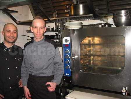 Manuel Domínguez Carrete y Pedro Espinosa - Chefs del Restaurante Lúa (Madrid) - © Cucharete.com