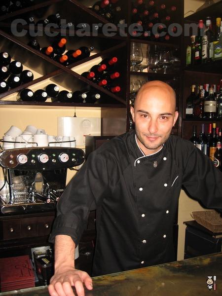 Manuel Domínguez Carrete - Chef del Restaurante Lúa (Madrid) - © Cucharete.com