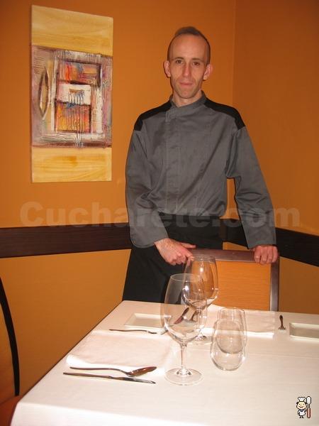 Pedro Espinosa - Chef del Restaurante Lúa (Madrid) - © Cucharete.com