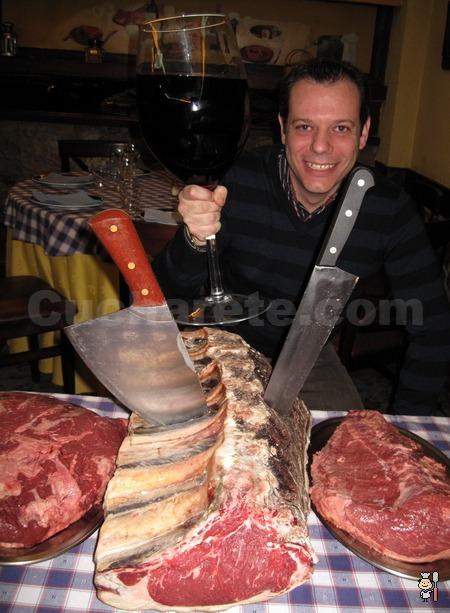 ¡PASIÓN CARNÍVORA! Carne de Buey en el Restaurante La Nova - © Cucharete.com