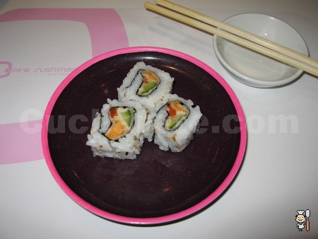 Pink Sushiman - © Cucharete.com