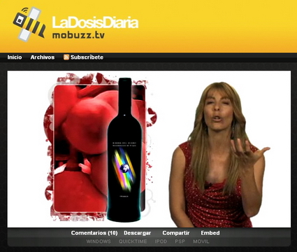 Vinete de Cucharete en Mobuzz TV