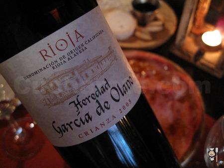Botella de Rioja Crianza ¡Gratis! en la Taberna Los Austrias - © Cucharete.com