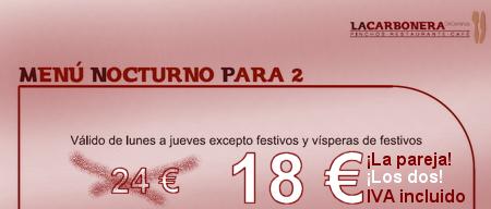 La cena más barata para una pareja en un Restaurante de Madrid - © Cucharete.com