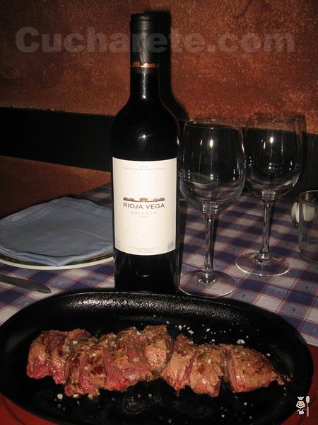 Vino Rioja Crianza y Postre Gratis en La Nova - © Cucharete.com