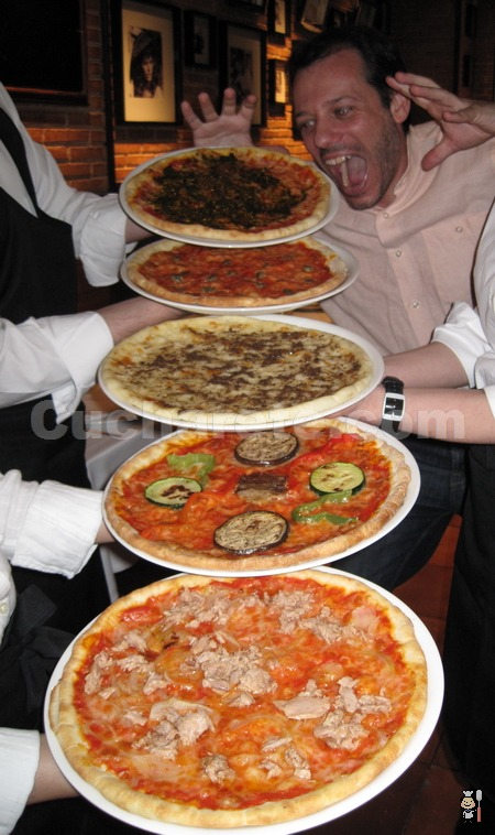¡Come todas las pizzas que desees por sólo 9,95 €/persona en Madrid! - © Cucharete.com