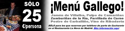 Menú Gallego Espectacular en el Restaurante La Nova - © Cucharete.com