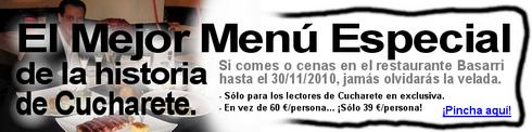 Espectacular Menú Especial de 60 € en Madrid... ¡Sólo a 39 € para los lectores de Cucharete! - © Cucharete.com