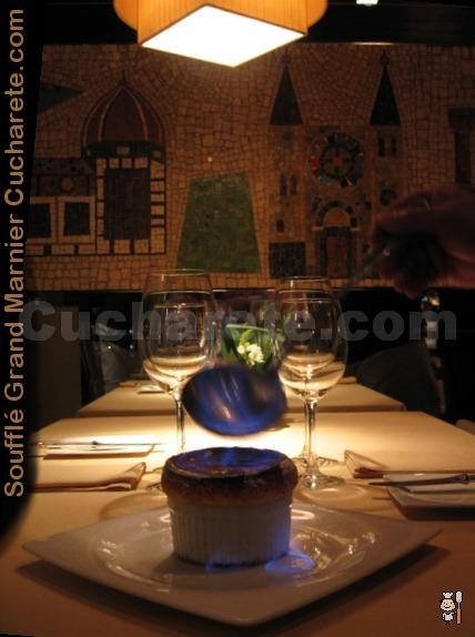 Soufflé Grand Marnier Gratis en Club 31 - © Cucharete.com
