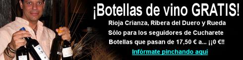 Botellas de vino gratis en Madrid en la Taberna Los Austrias - © Cucharete.com