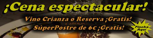 Vino y Postre Gratis en El Pedrusco de Aldealcorvo - © Cucharete.com