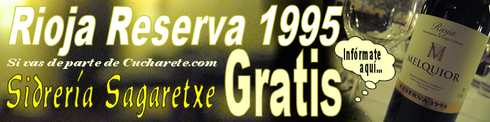 Rioja Reserva 1995 Gratis en Sagaretxe - © Cucharete.com