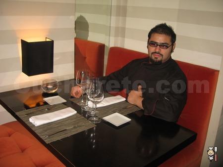 Rafael Ferreyra - Chef del Restaurante Belalúa (Madrid) - © Cucharete.com
